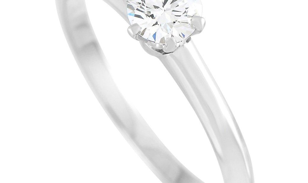 Tiffany & Co. Tiffany & Co. Platinum 0.30 ct Diamond F-VS1 Engagement Ring