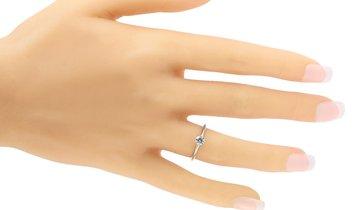 Tiffany & Co. Tiffany & Co. Platinum 0.30 ct Diamond H-VS2 Engagement Ring