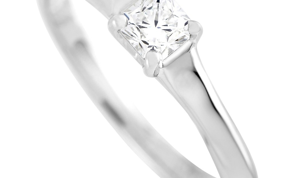 Tiffany & Co. Tiffany & Co. Lucida Platinum 0.33 ct Diamond G-VS2 Engagement Ring