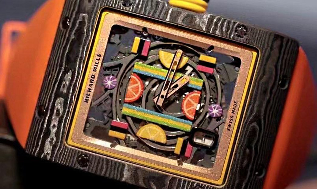 Richard Mille [2019 LIKE NEW] RM 16-01 Citron BonBon Collection