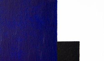 """""""Symphonie 1-2"""", Rain, 2020, France. Acrylic on canvas"""