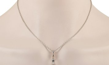 Cartier Cartier LOVE 18K White Gold Pendant Necklace