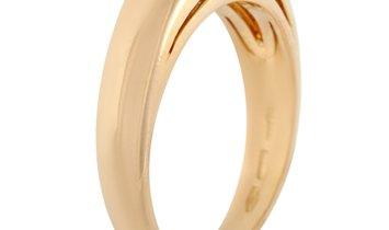 Bvlgari Bvlgari 18K Yellow Gold Sapphire Ring