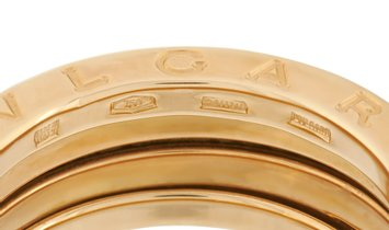 Bvlgari Bvlgari B.Zero1 18K Yellow Gold Double Ring