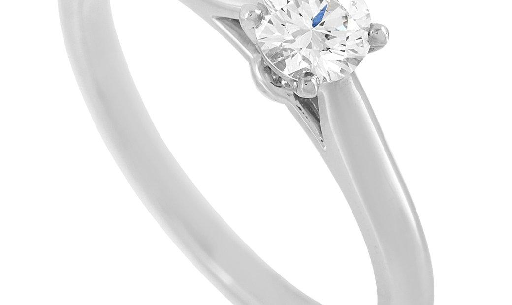 Cartier Cartier Platinum 0.26 ct Diamond Engagement Ring