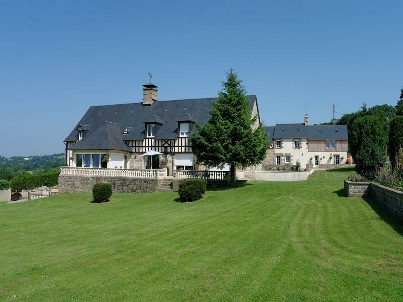 Farm Ranch in Saint-Michel-de-Montjoie, Normandy, France 1