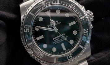 Rolex Submariner 124060-0001 Oystersteel Black Ceramic Bezel Black Dial