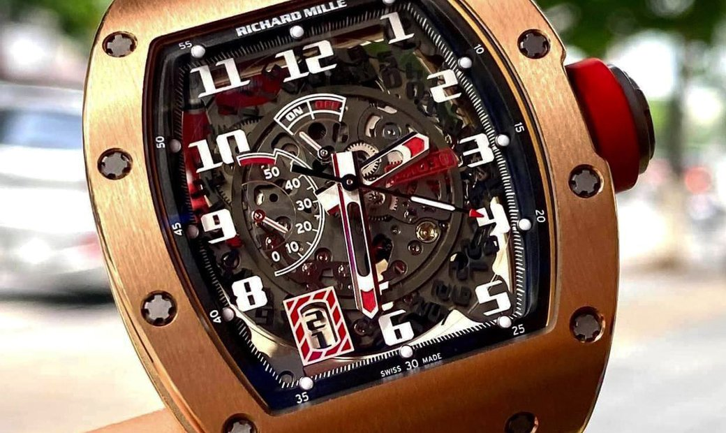 Richard Mille [2015 LIKE NEW] RM 030 Asia Limited