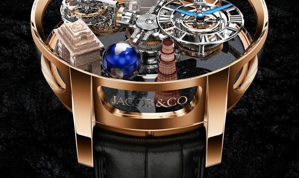 Jacob & Co. 捷克豹 [NEW] Astronomia India AT102.40.AA.UB.A (Retail: HK$7,700,000)