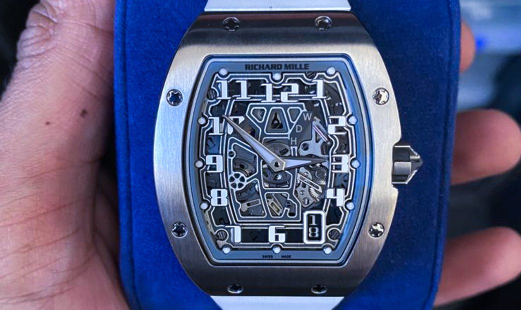 Richard Mille [2016 MINT] RM 67-01 White Gold Watch