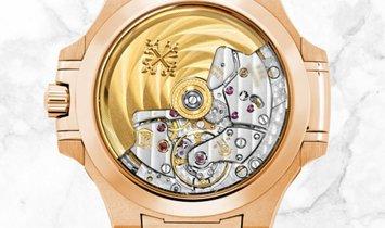 Patek Philippe Nautilus 7118/1R-010  Ladies Automatic Rose Gold Golden Brown Opaline Dial
