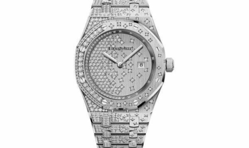 AUDEMARS PIGUET ROYAL OAK QUARTZ WG DIAMOND SET 67654BC.ZZ.1264BC.01