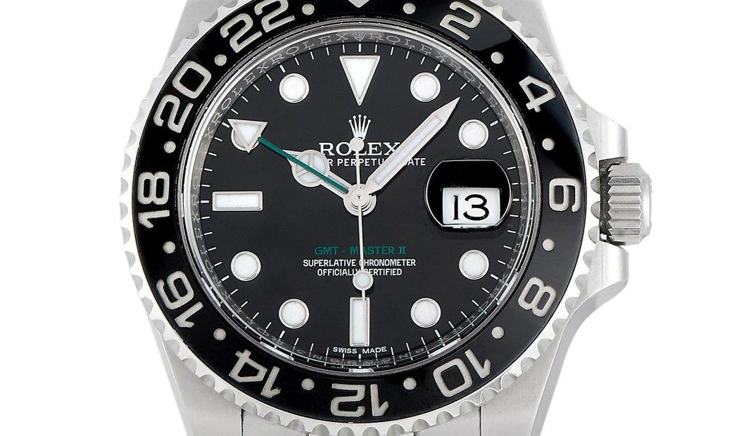 Rolex Rolex Oystersteel GMT-Master II 40mm 116710LN