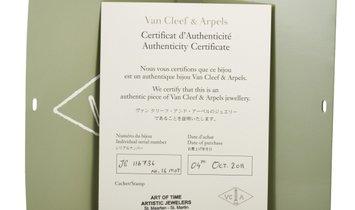 Van Cleef & Arpels Van Cleef & Arpels Magic Alhambra 18K Yellow Gold Mother of Pearl and Onyx 16 Mot