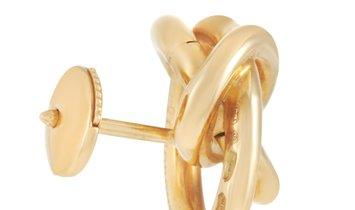 de Grisogono De Grisogono 18K Yellow Gold Stud Earrings