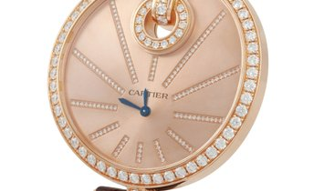 Cartier Cartier Captive de Cartier 18K Rose Gold Diamond Bezel 50 mm Watch WG600003