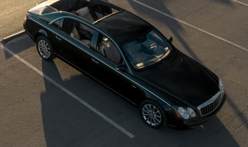 2009 Maybach 62S Landaulet