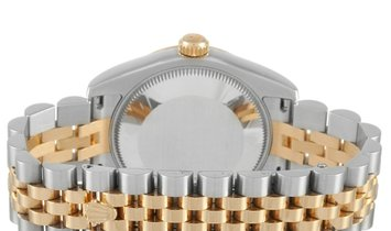 Rolex Rolex Lady-Datejust Jubilee Two-Tone 31 mm Oystersteel and Yellow Rolesor Watch 178273