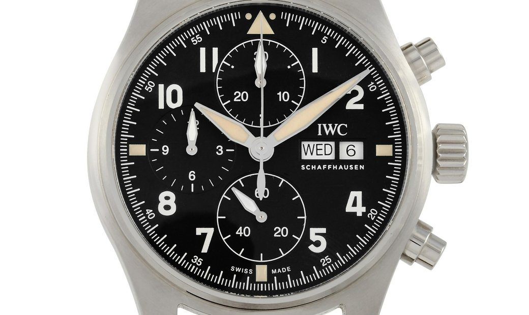 IWC IWC Pilot's Watch Chronograph Spitfire Stainless Steel 41 mm Watch IW387901