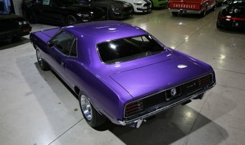 1970 Plymouth 'Cuda 440 6-Pack, 4-Speed