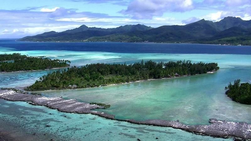 Land in Iripau, Leeward Islands, French Polynesia 1