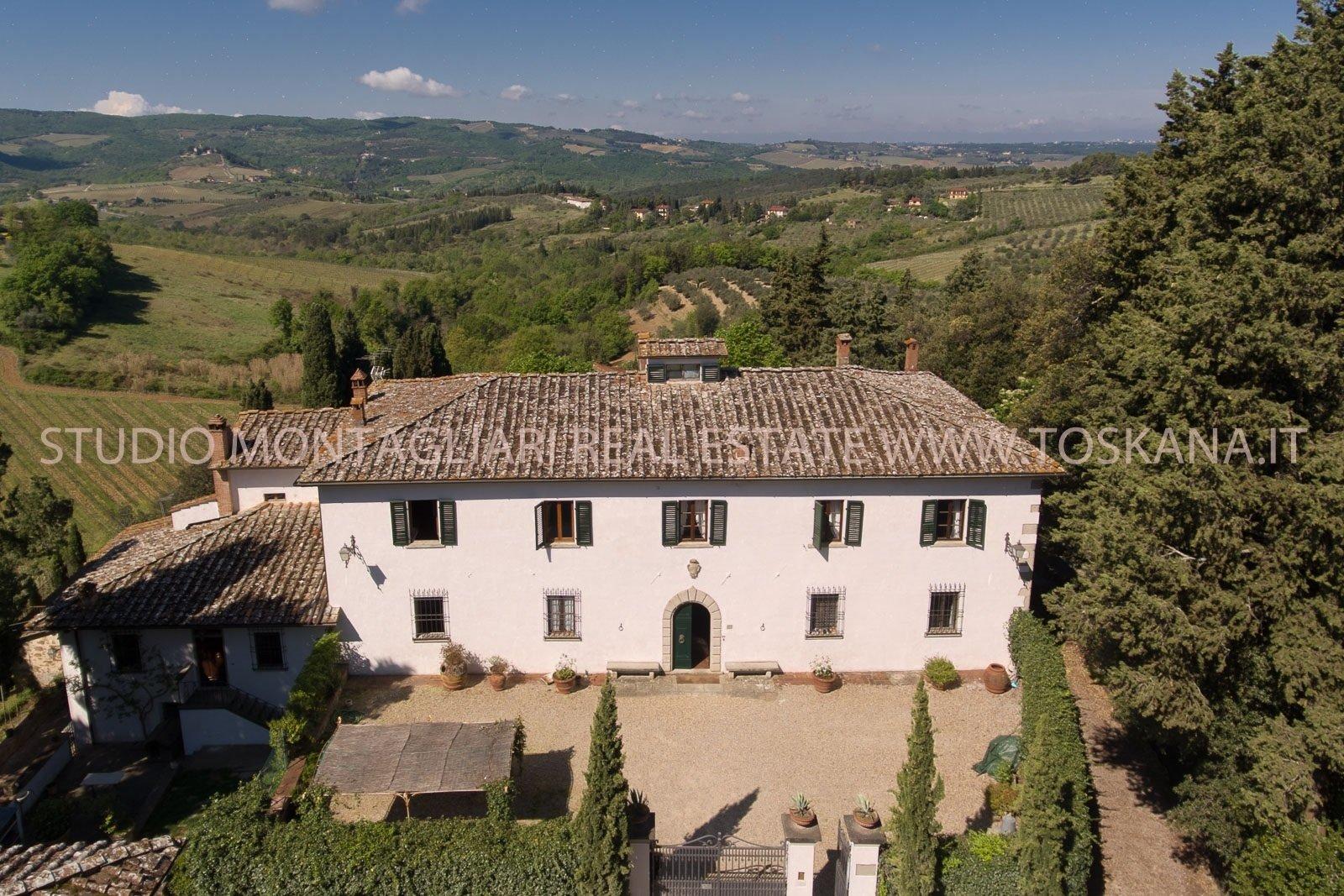 Villa in Greve in Chianti, Tuscany, Italy 1 - 10656537