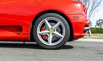 2004 Ferrari 360 Convertible 2D Spider 3.6L V8
