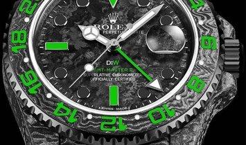 "Rolex DiW NTPT Carbon GMT-Master II ""STINGER"" (Retail: US$38,990)"