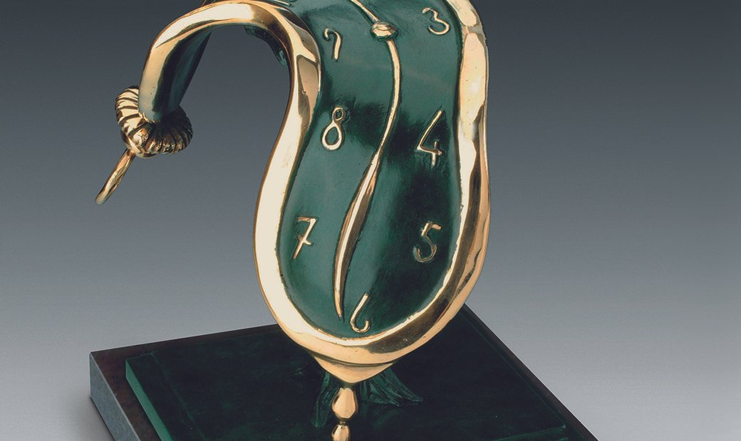 Dance of Time II by Salvador Dali