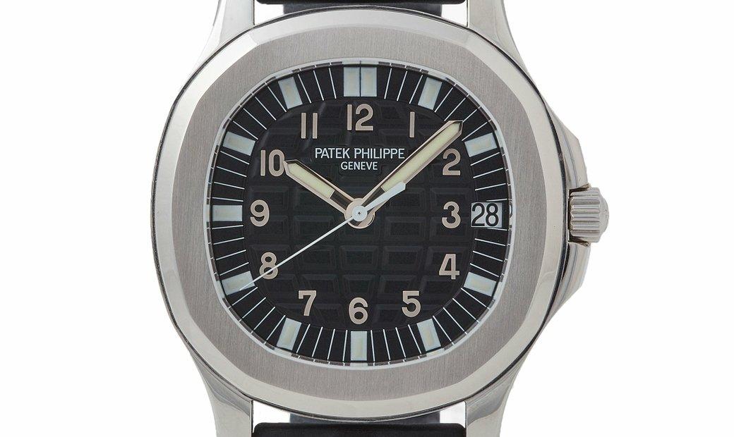 PATEK PHILIPPE AQUANAUT AUTOMATIC STEEL MEN'S WATCH REF. 5065A-001