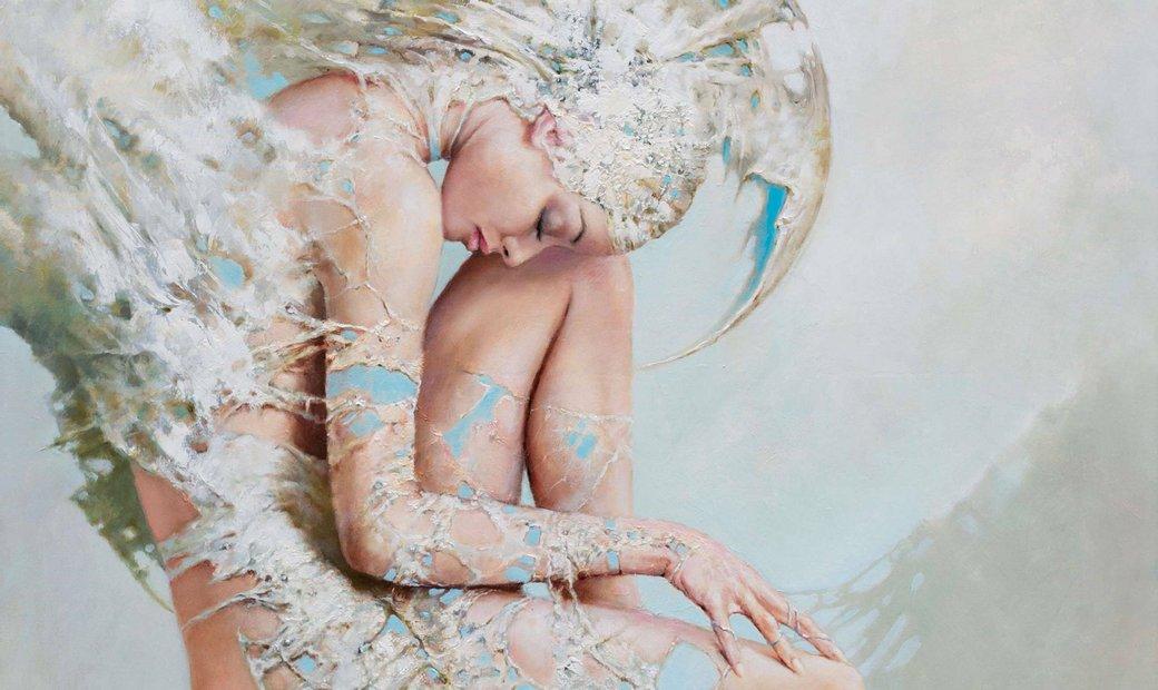 Angel's dream by Karol Bak