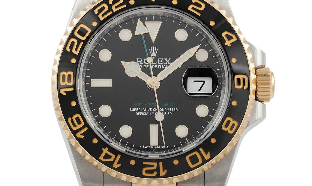 Rolex Rolex GMT-Master II 40mm Oystersteel Watch 116713LN