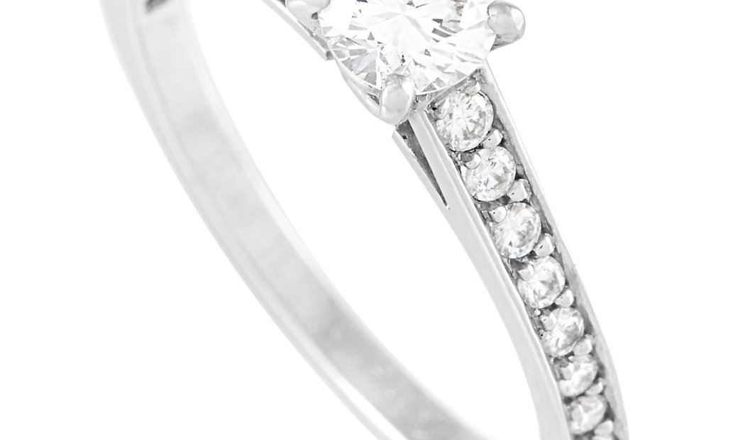 Cartier Cartier Platinum 0.49 ct Diamond Solitaire Engagement Ring