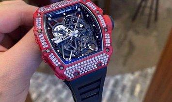 Richard Mille [2019 LIKE NEW] RM 35-02 QTPT Diamonds Watch