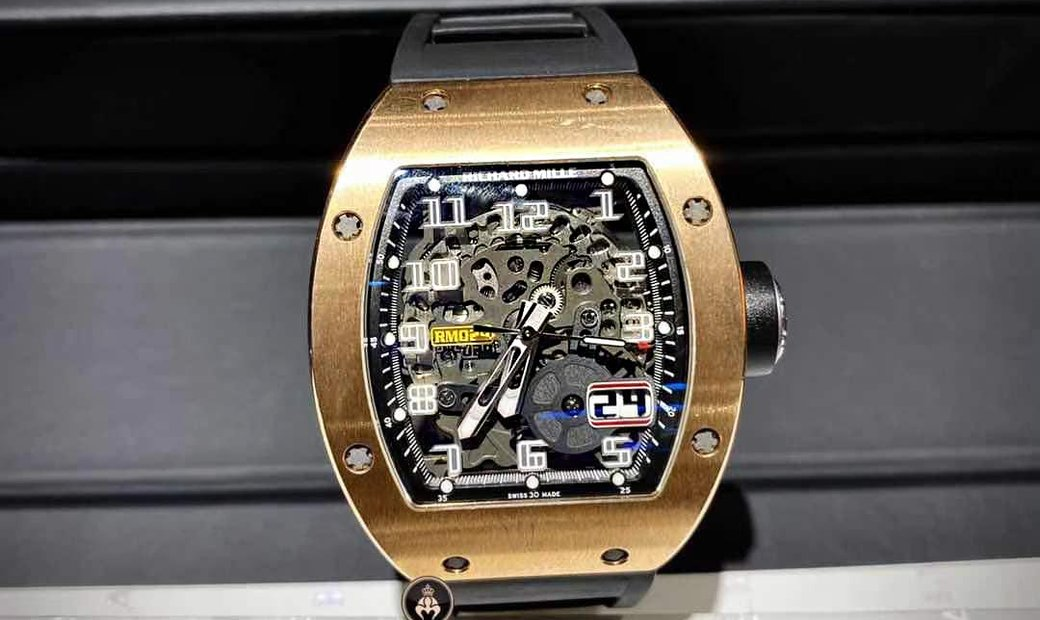Richard Mille [2013 MINT] RM 029 Rose Gold Automatic