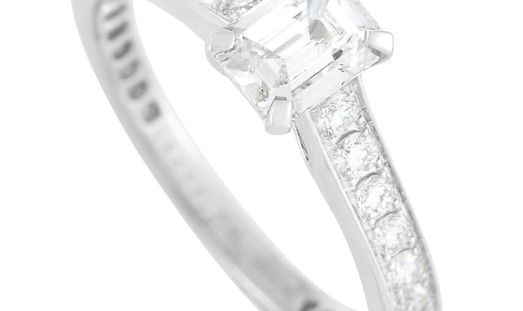 Graff  Graff Platinum 1.04 ct Diamond Engagement Ring