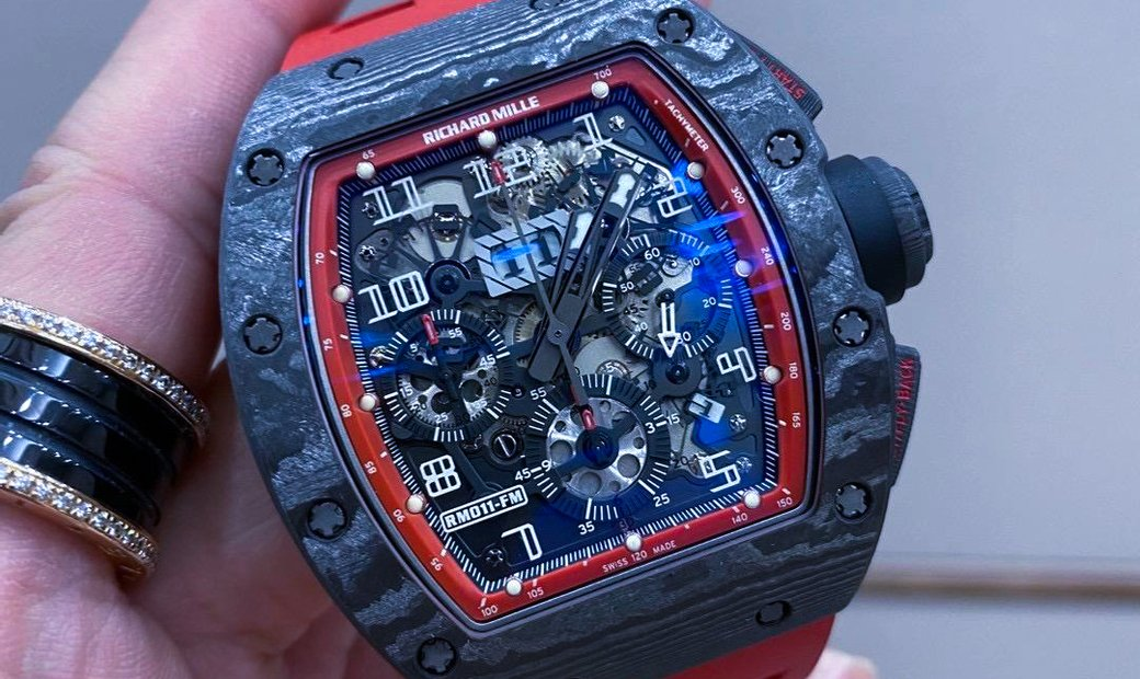 Richard Mille [2015 MINT] RM 011 Black Night NTPT Watch