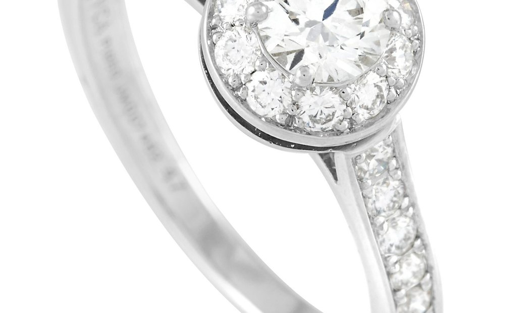 Van Cleef & Arpels Van Cleef & Arpels Platinum 0.65 ct Diamond Engagement Ring