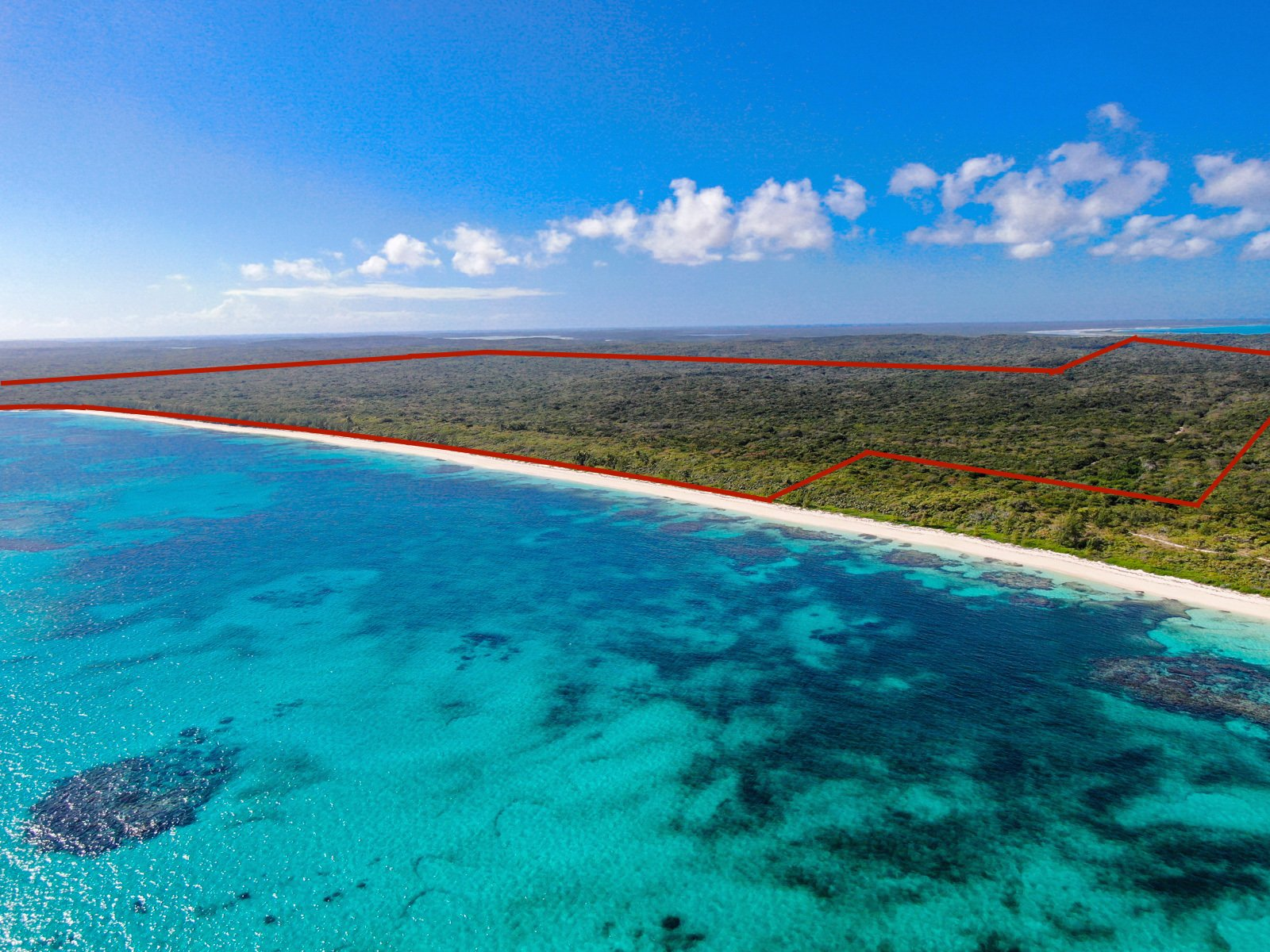 Land in Cat Island, The Bahamas 1