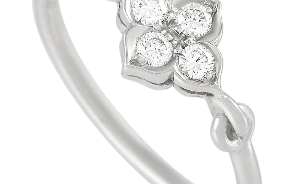 Cartier Cartier Platinum Diamond Ring