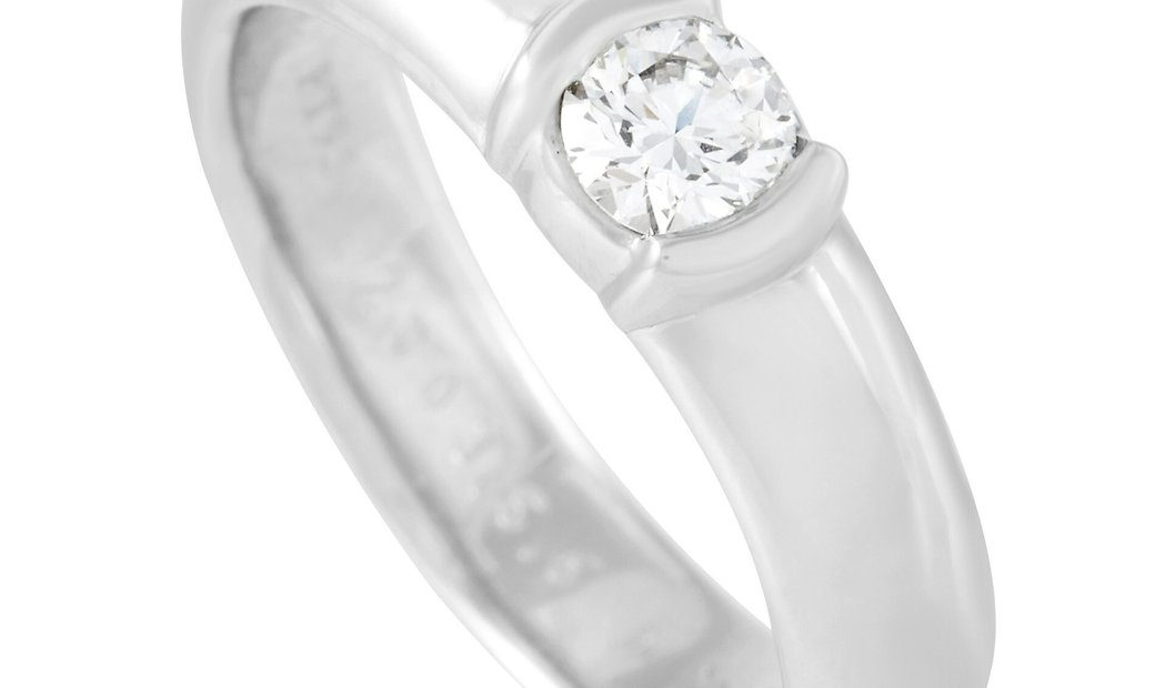 Tiffany & Co. Tiffany & Co. Etoile Platinum 0.21 ct Diamond Ring