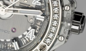 Hublot Big Bang One Click 465.JX.4802.RT.1204 Sapphire and Diamonds