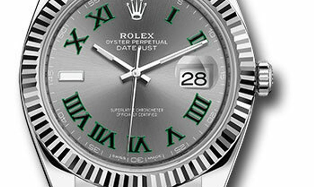 ROLEX OYSTER PERPETUAL DATEJUST 41 126334 SLGRO