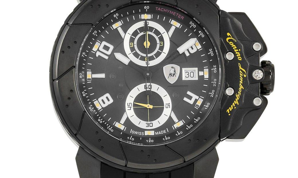 Tonino Lamborghini Tonino Lamborghini Brake 8 47 mm Stainless Steel Watch