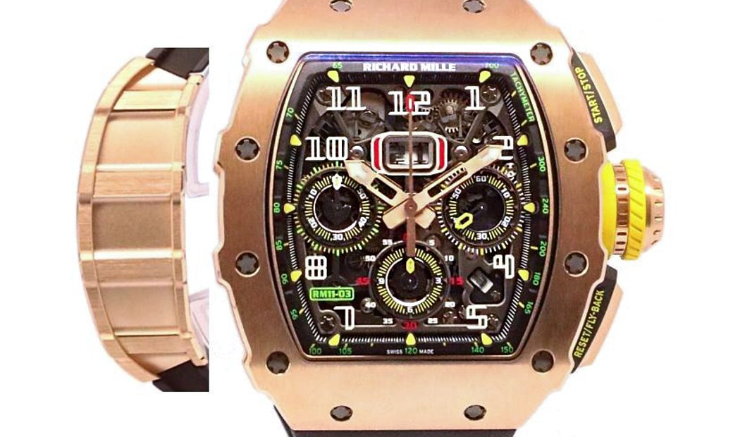 Richard Mille [2020 NEW] RM 11-03 FULL Rose Gold Automatic Flyback Chronograph