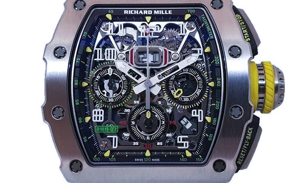 Richard Mille [NEW] RM 11-03 Titanium Automatic Flyback Chronograph Facelift