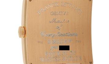 Franck Muller Franck Muller Master Square Black Dial Yellow Gold Watch 6000 K SC DT