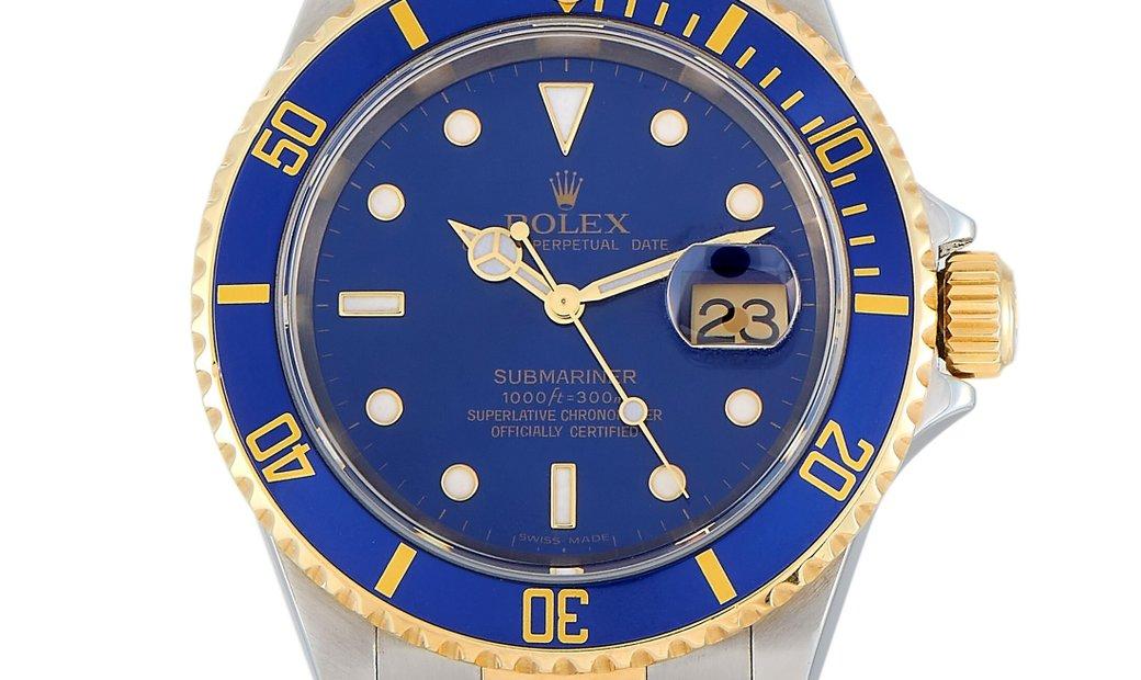 Rolex Rolex Submariner Date Watch 16613