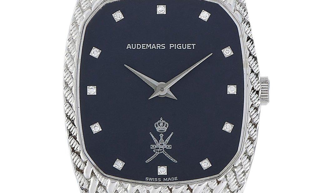 Audemars Piguet Audemars Piguet Vintage 27mm 18K White Gold Oman Bracelet Watch