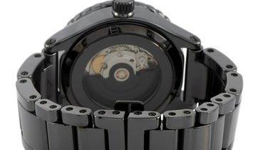 Nixon Nixon Ceramic Automatic 42 mm All Black Ceramic Watch A148 001